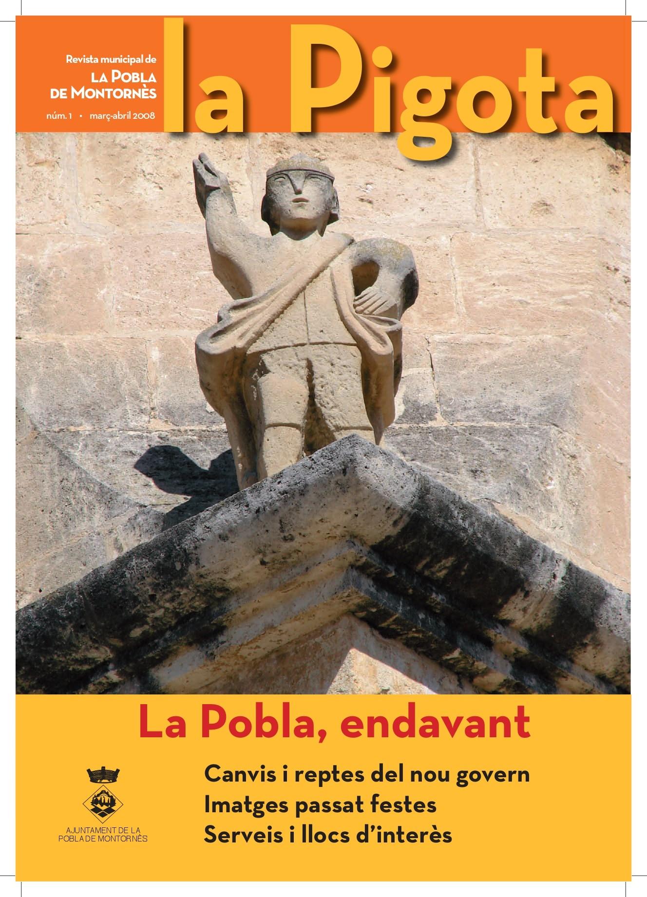Revista La Pigota núm. 1 (Març-Abril 2008)