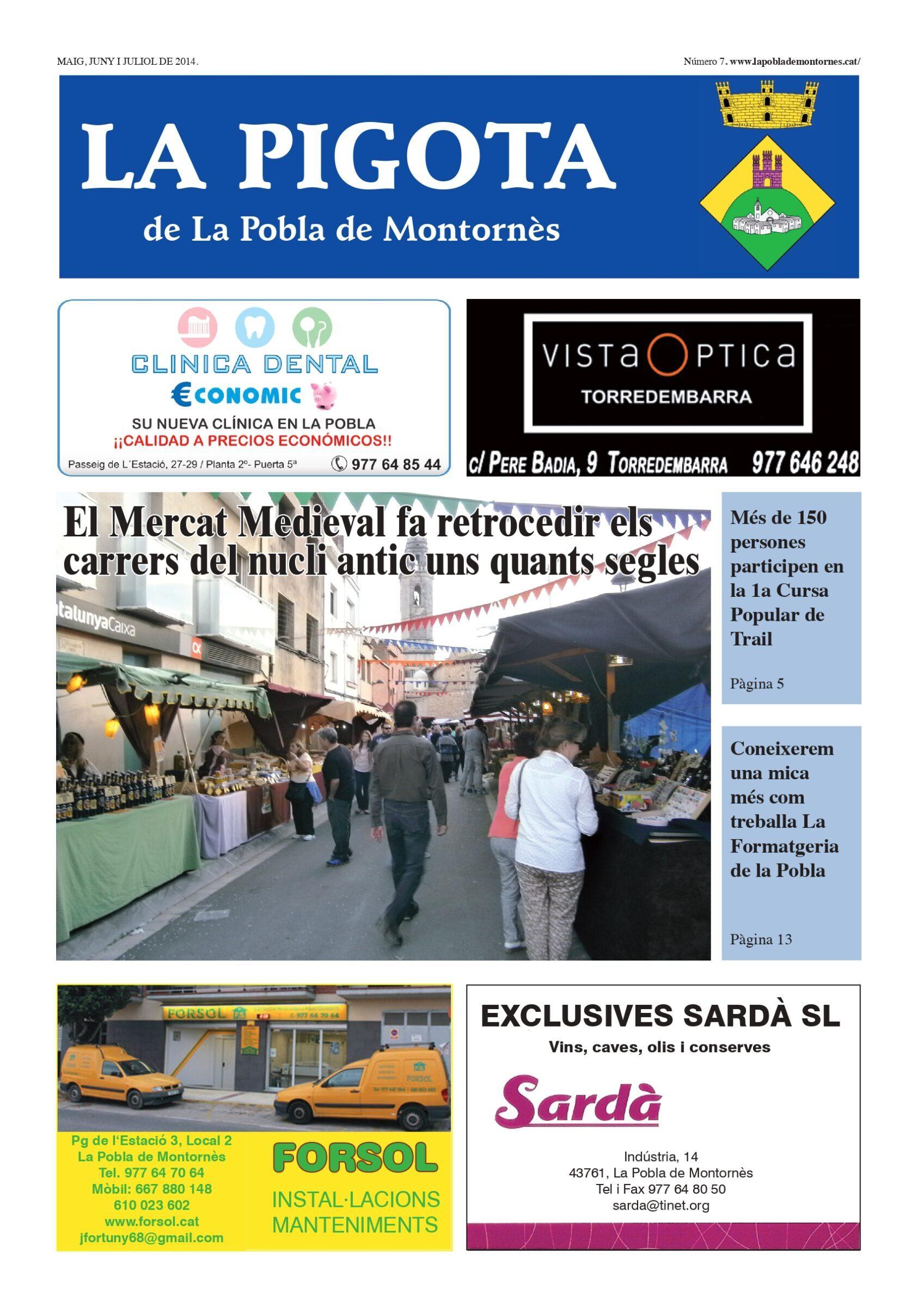 Revista La Pigota núm. 7 (Maig, Juny, Juliol i Agost 2014)