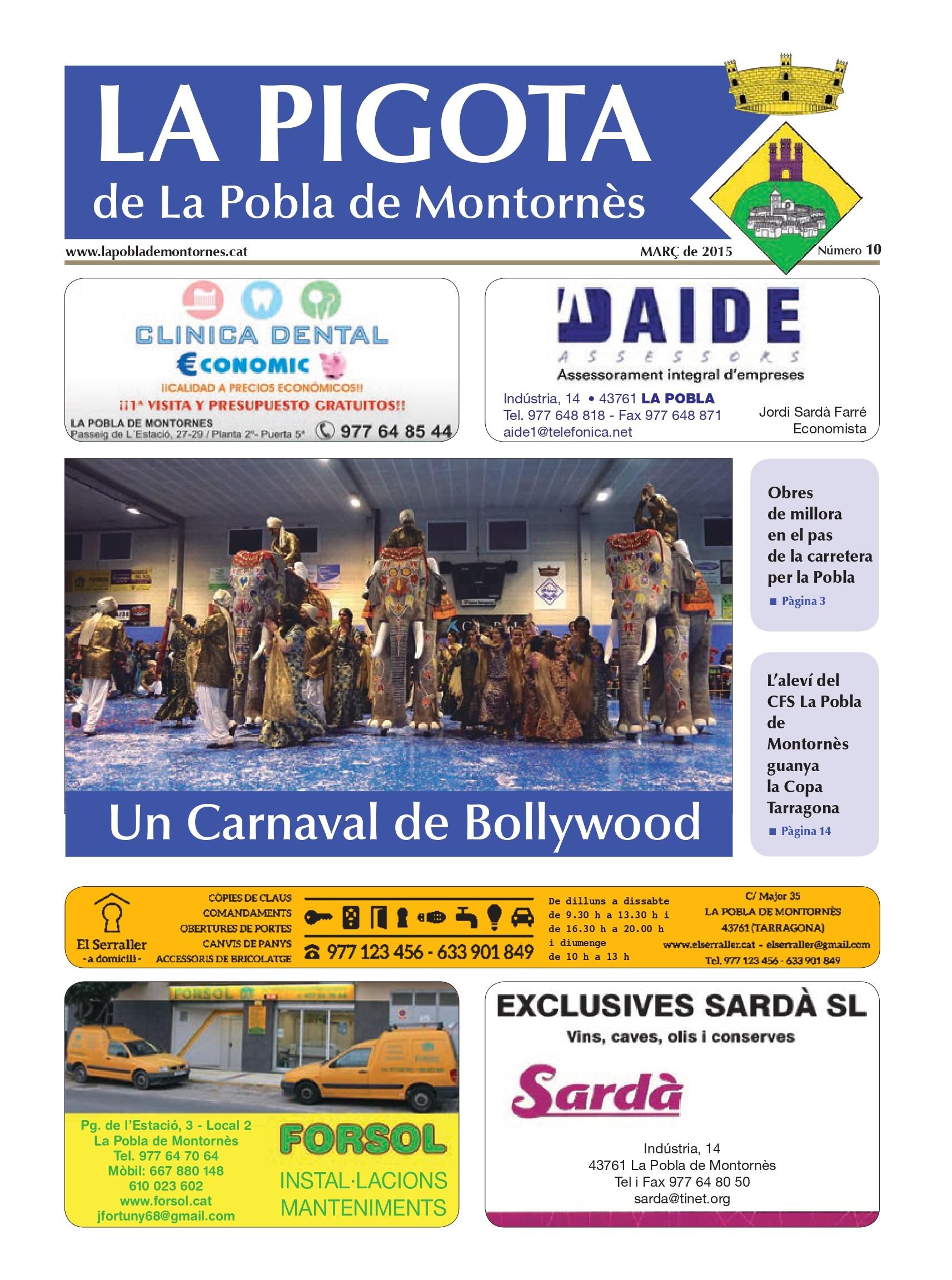 Revista La Pigota núm. 11 (Abril, Maig i Juny 2015)
