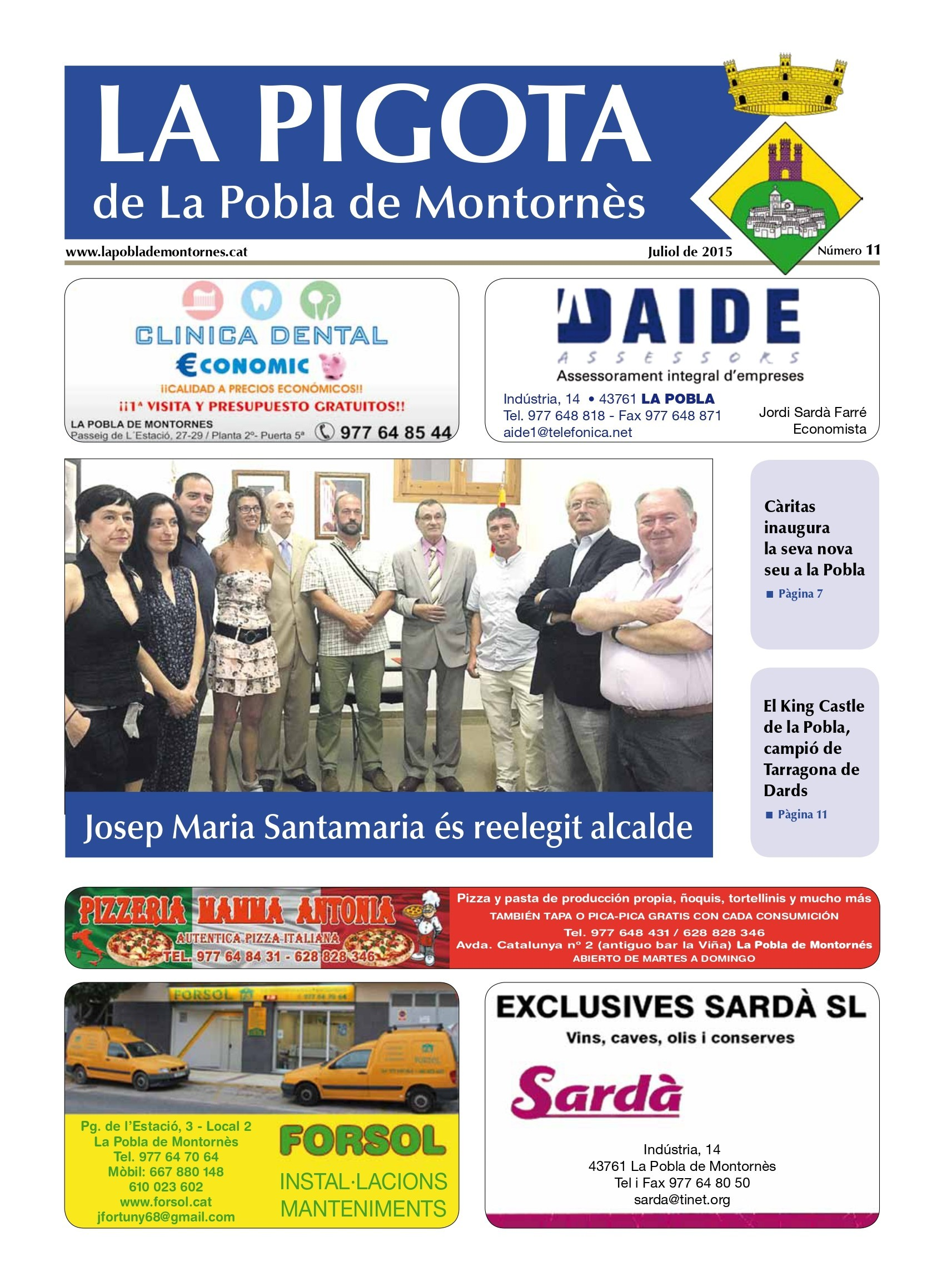 Revista La Pigota núm. 12 (Juliol, Agost i Setembre 2015)
