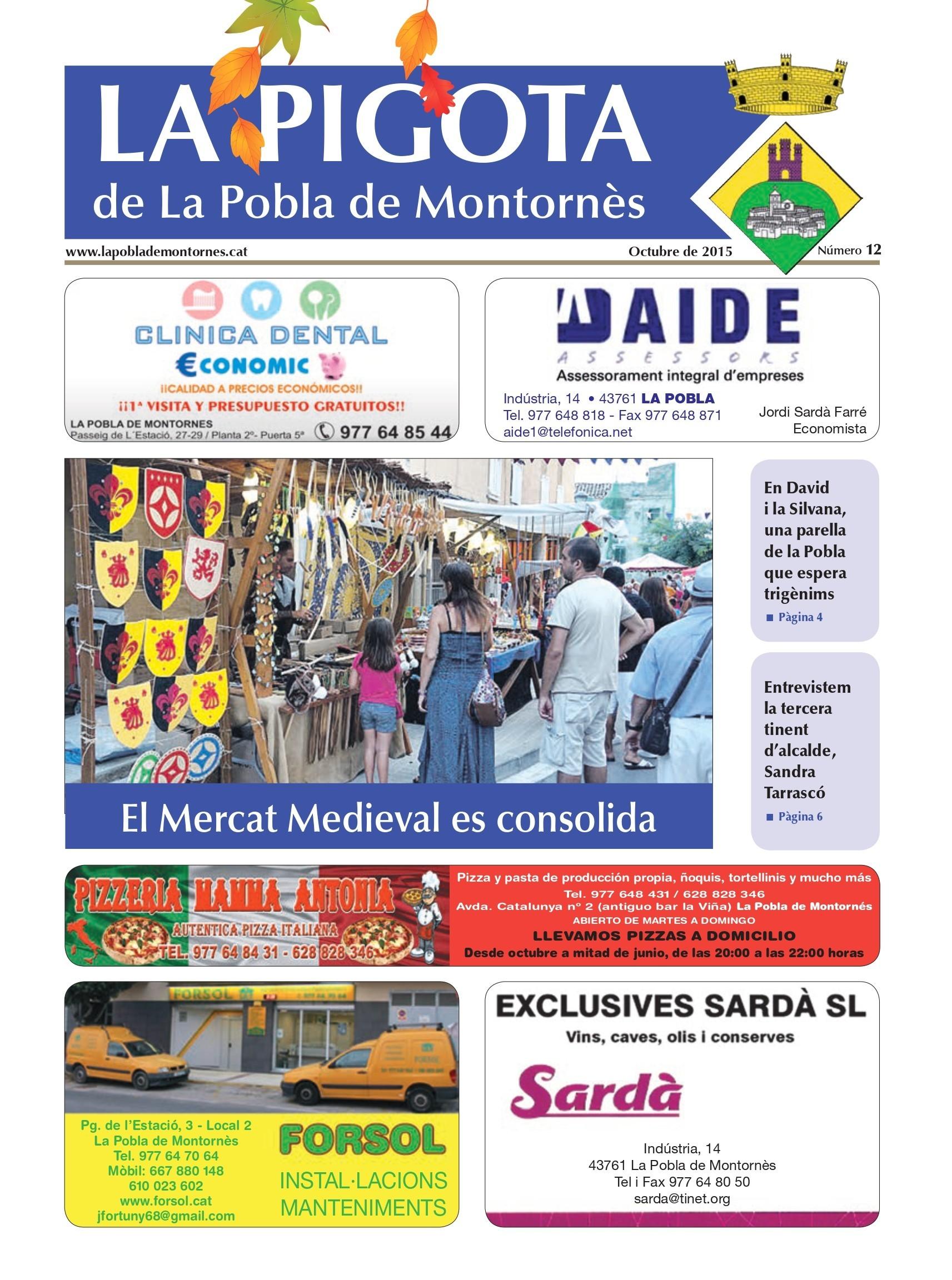 Revista La Pigota núm. 13 (Octubre, Novembre i Desembre 2015)