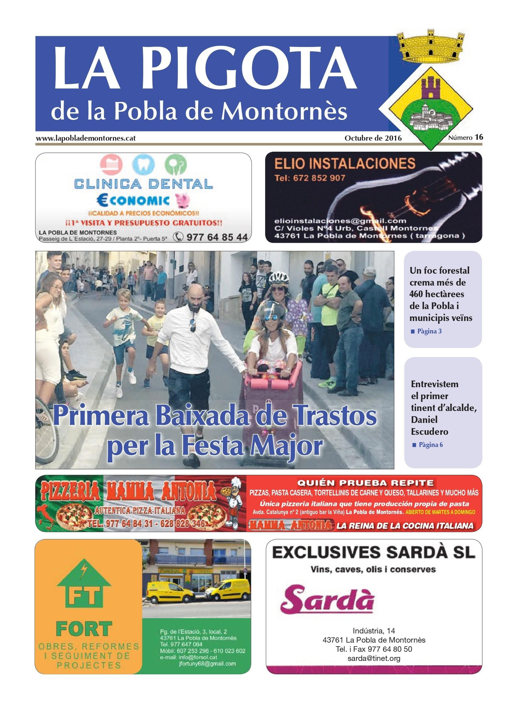 Revista La Pigota núm. 16 (Octubre 2016)