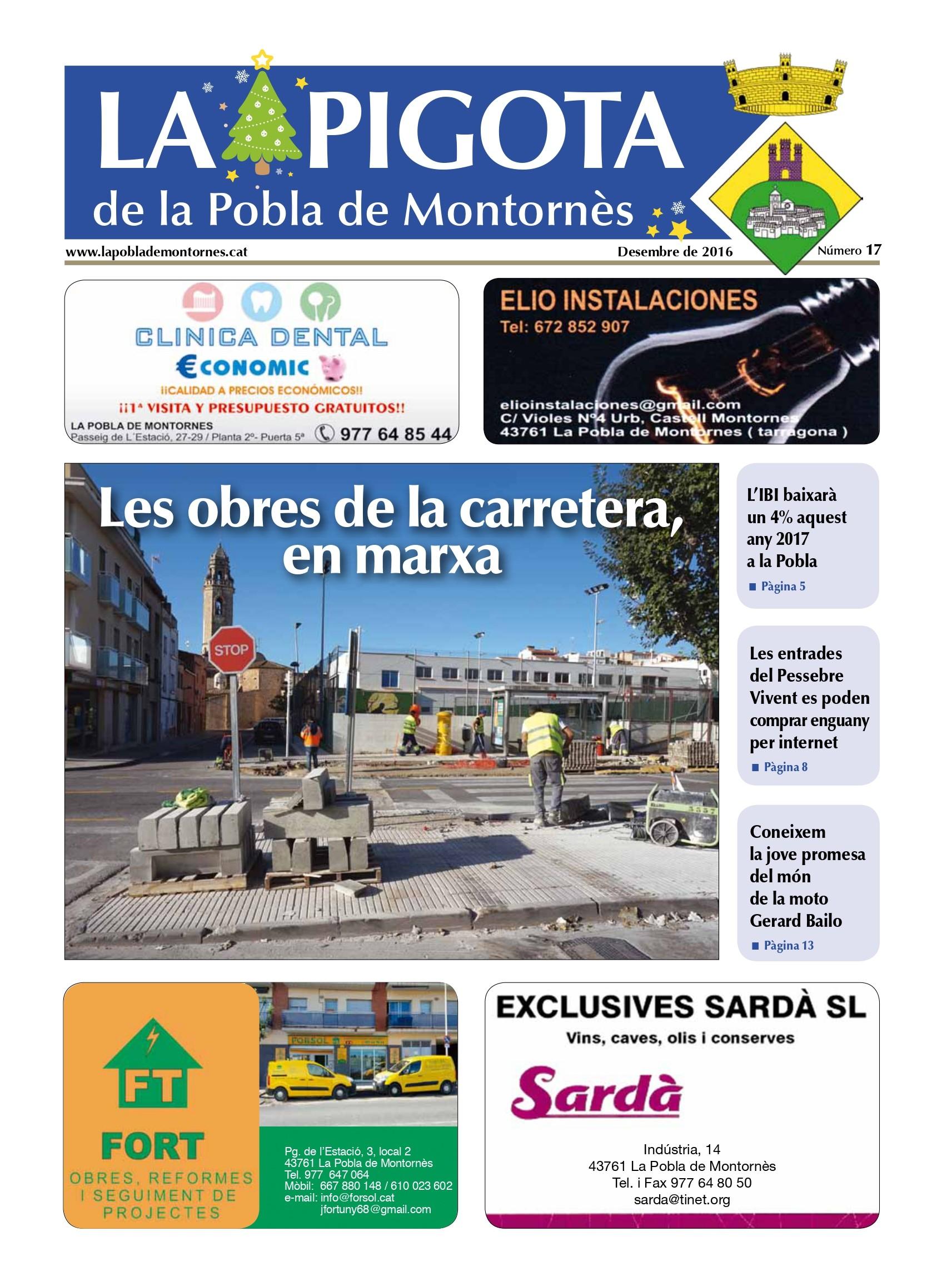 Revista La Pigota núm.17 (Desembre 2016)