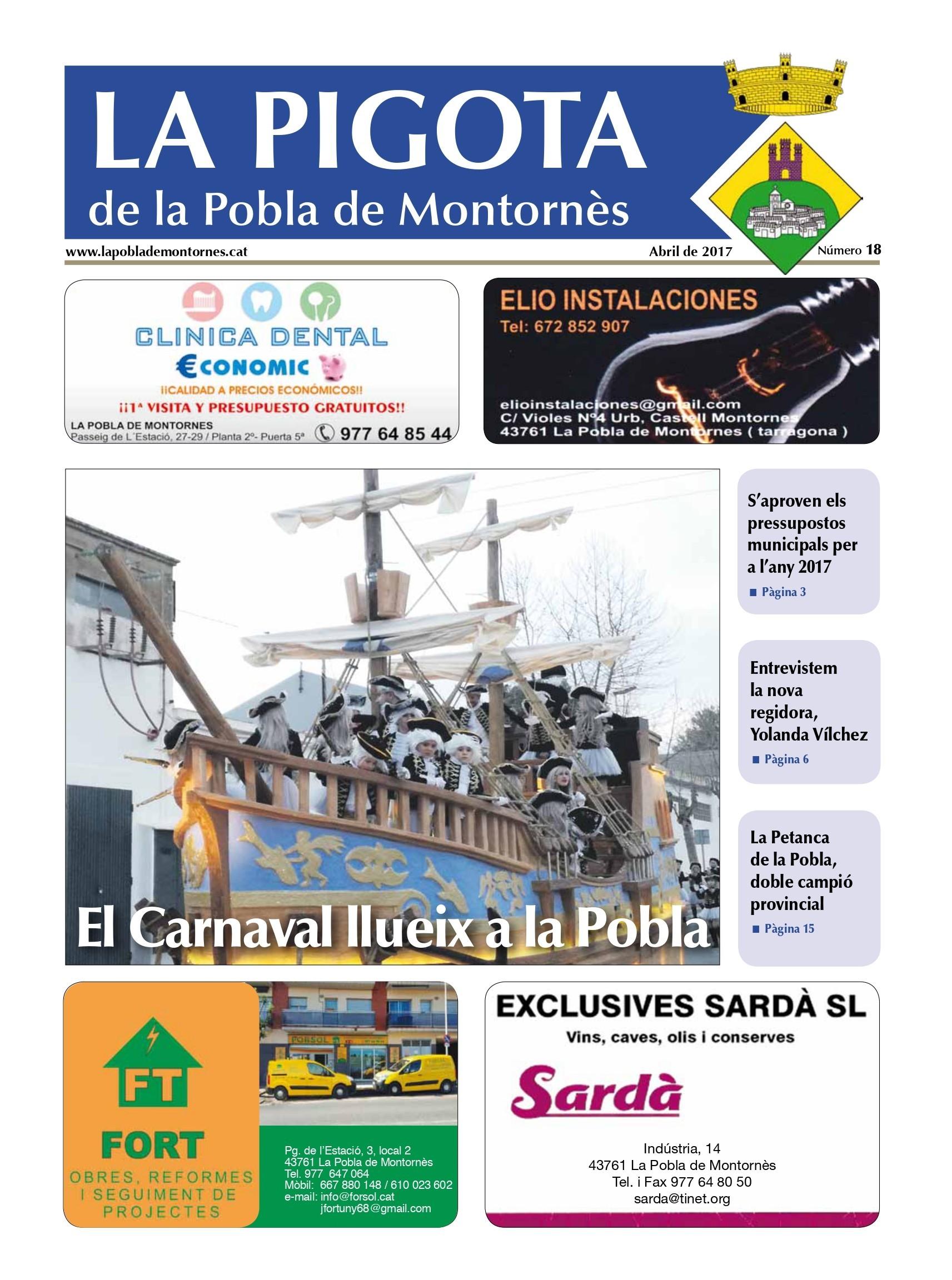 Revista La Pigota núm. 18 (Abril 2017)