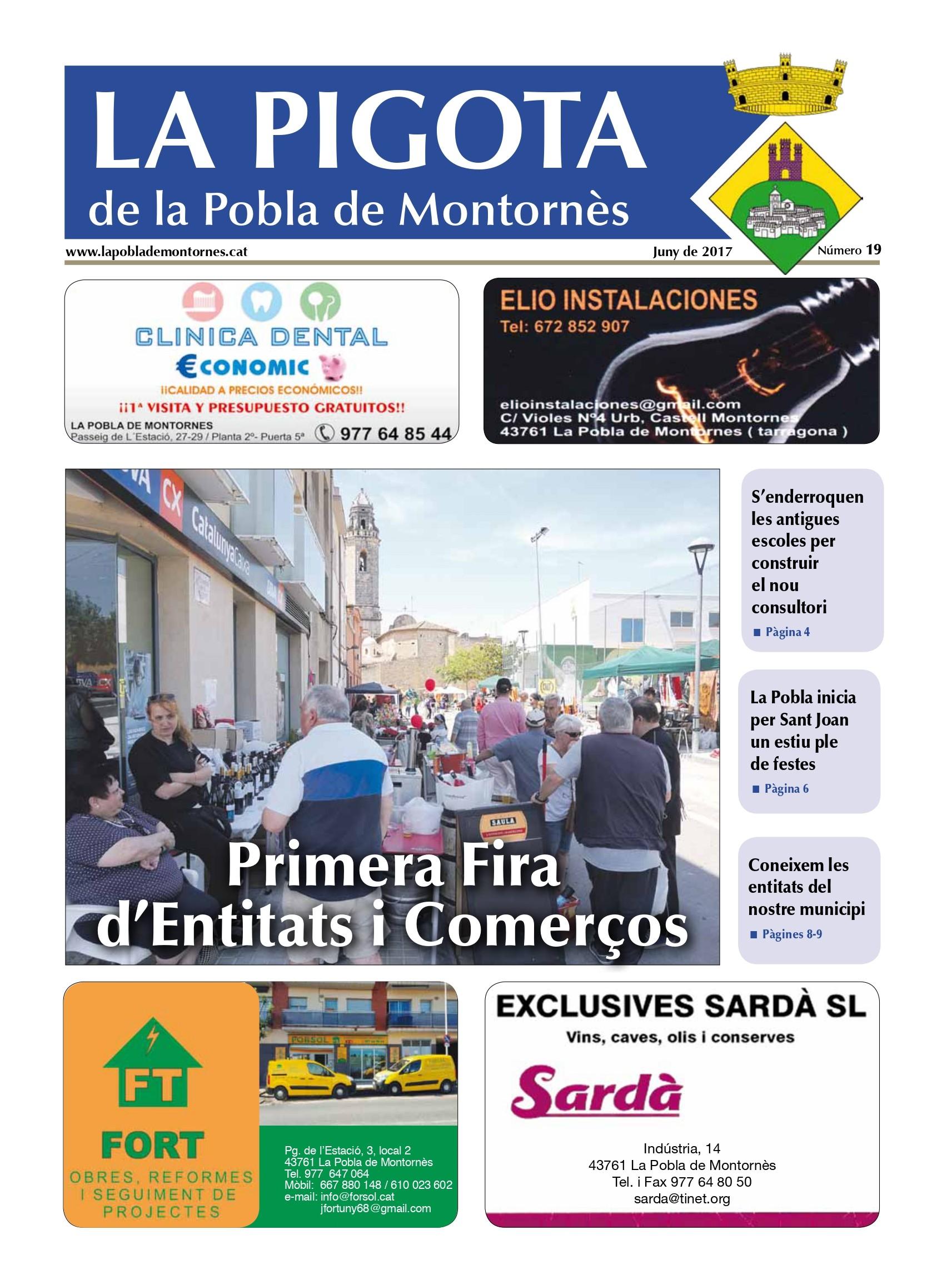 Revista La Pigota núm. 19 (Juny 2017)