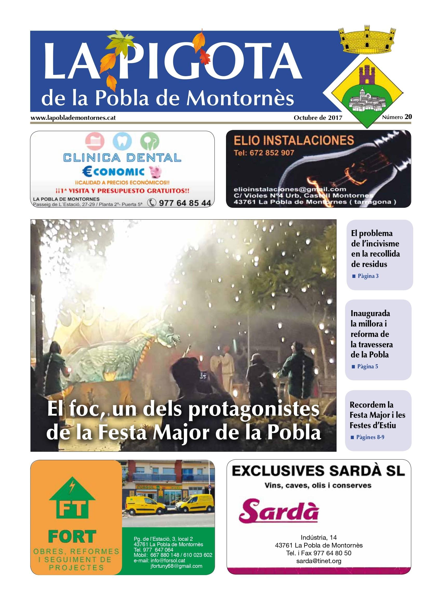 Revista La Pigota núm. 20 (Octubre 2017)