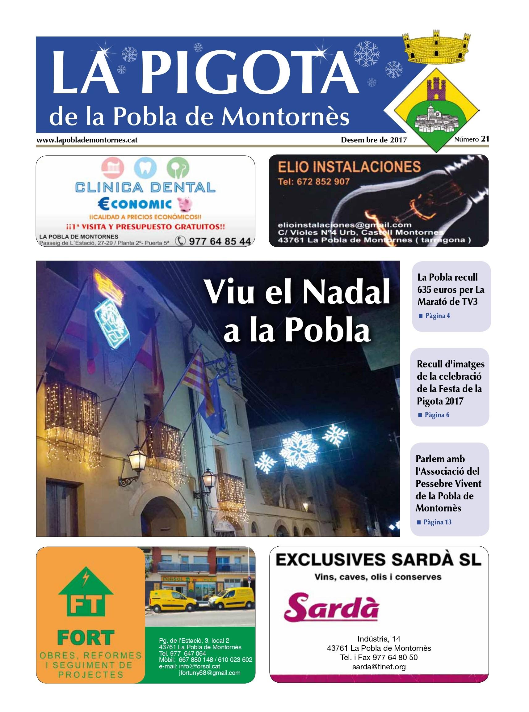 Revista La Pigota núm. 21 (Desembre 2017)