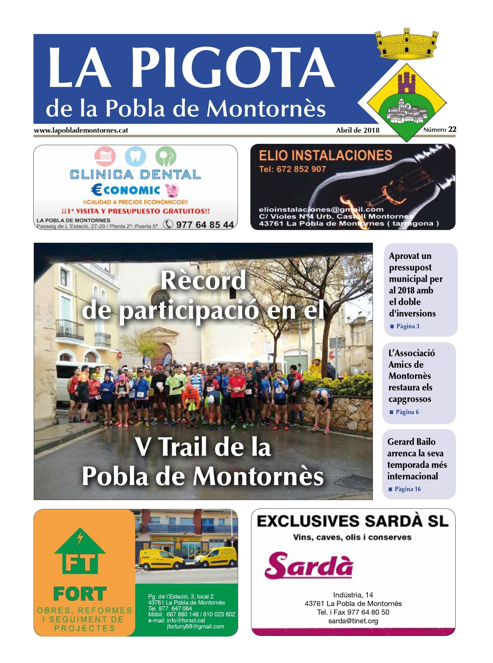 Revista La Pigota núm. 22 (Abril 2018)
