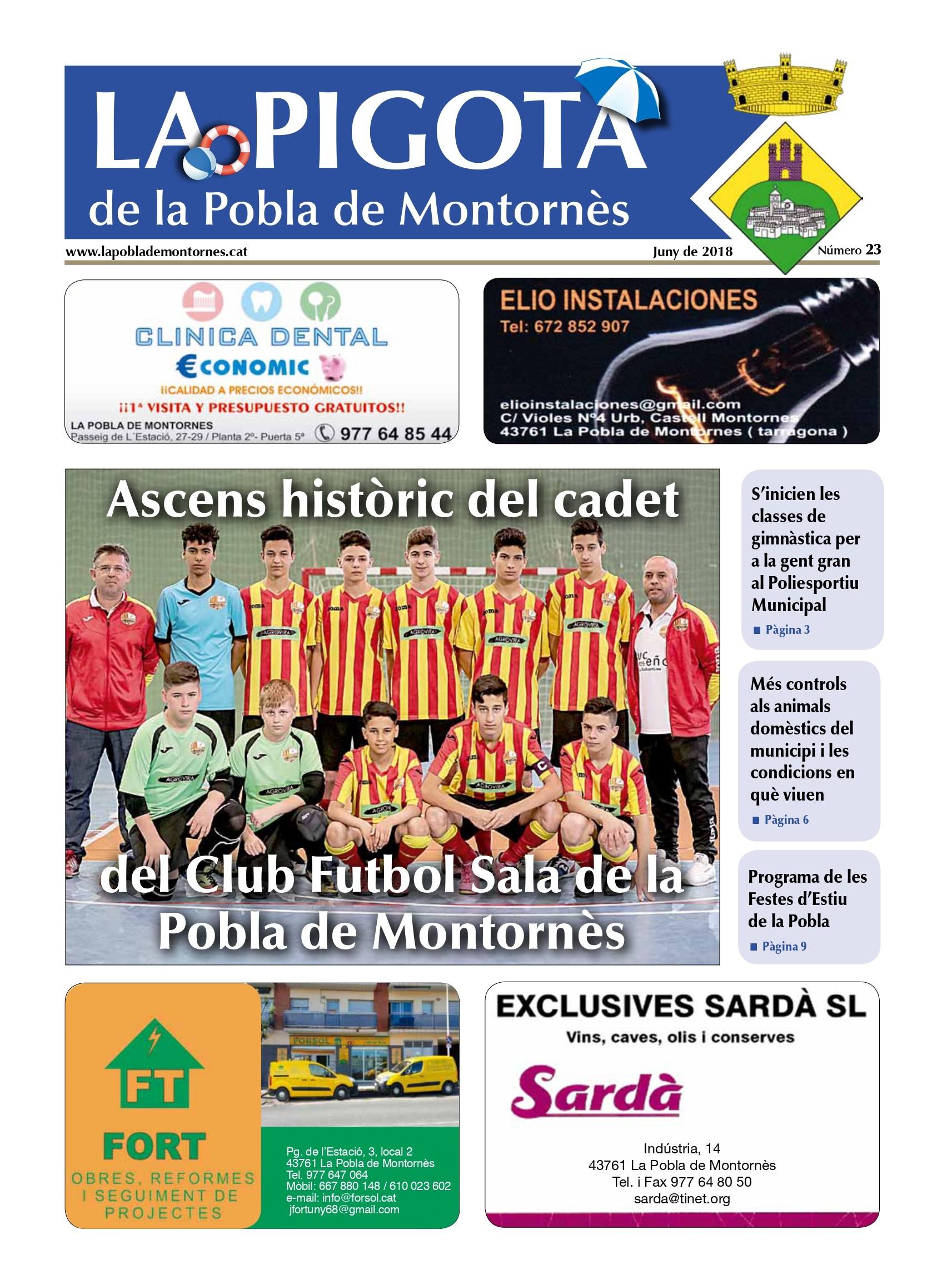 Revista La Pigota núm. 23 (Juny 2018)