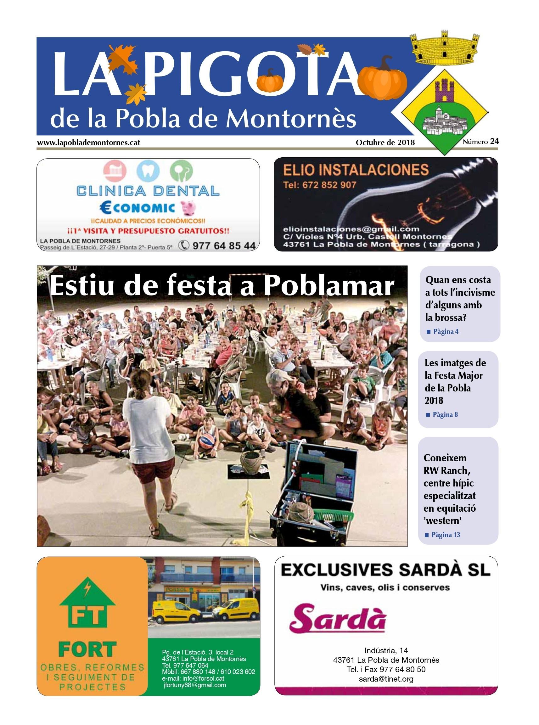 Revista La Pigota núm. 24 (Octubre 2018)