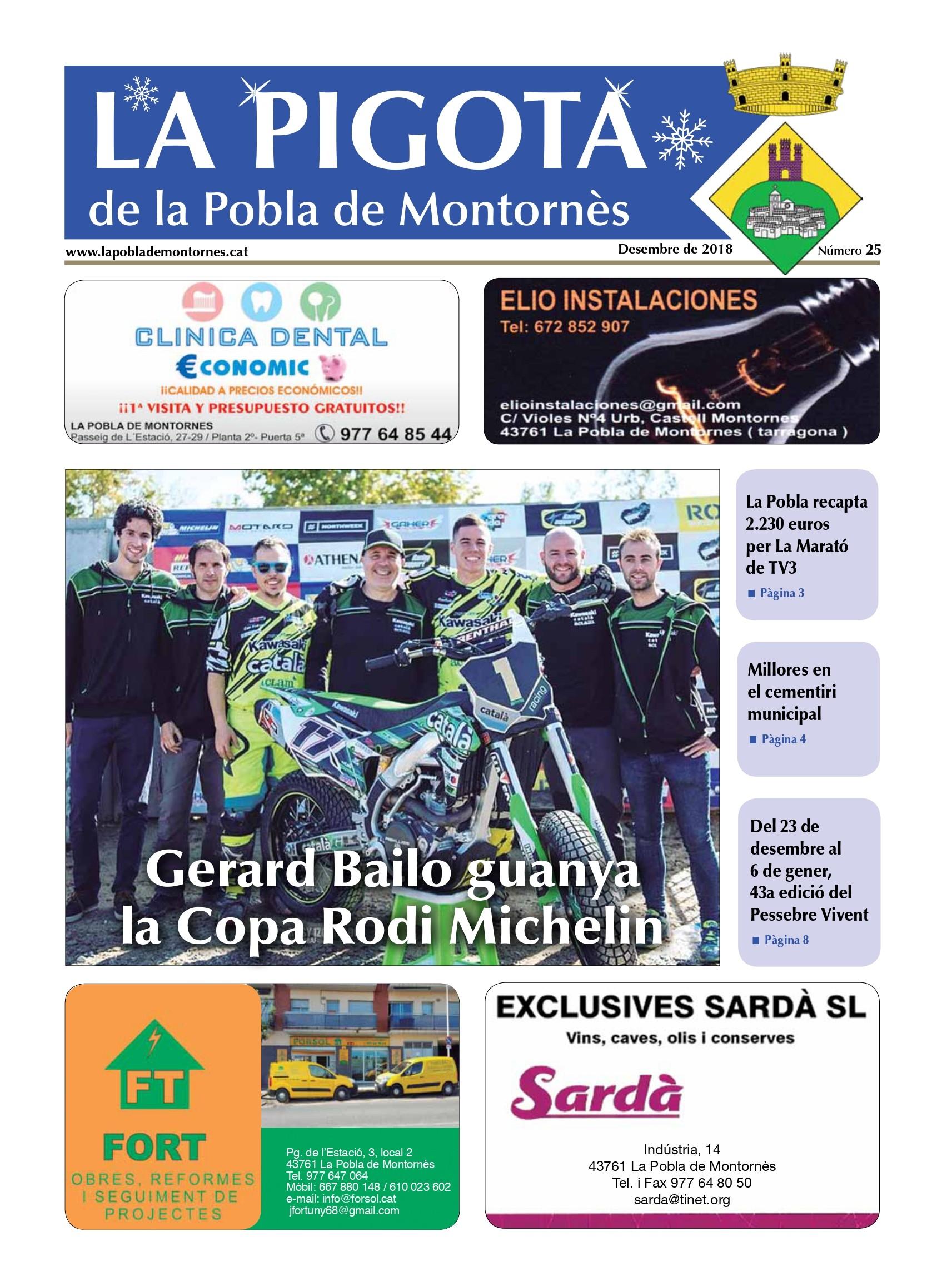 Revista La Pigota núm. 25 (Desembre 2018)