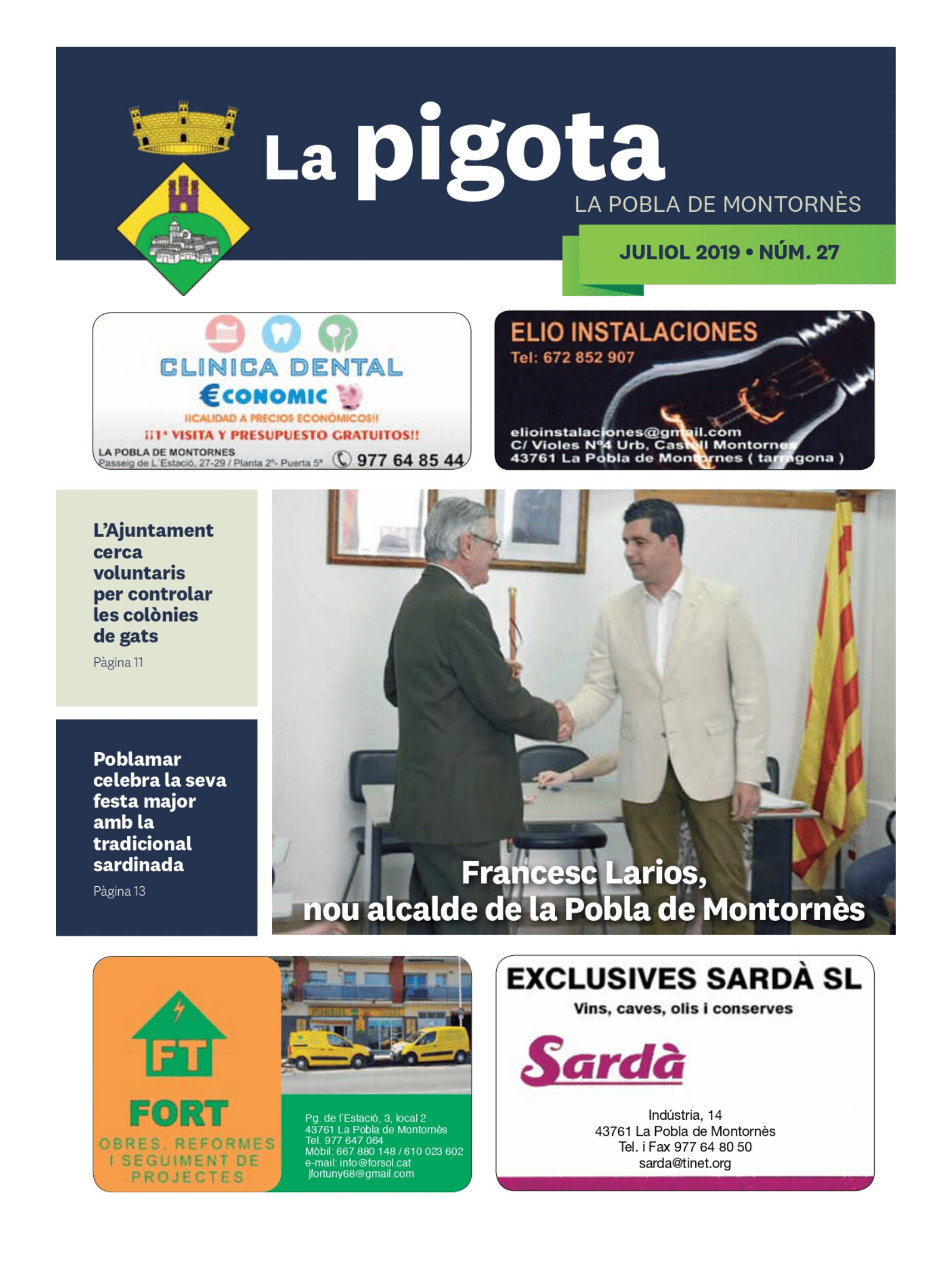 Revista La Pigota núm. 27 (Juliol 2019)