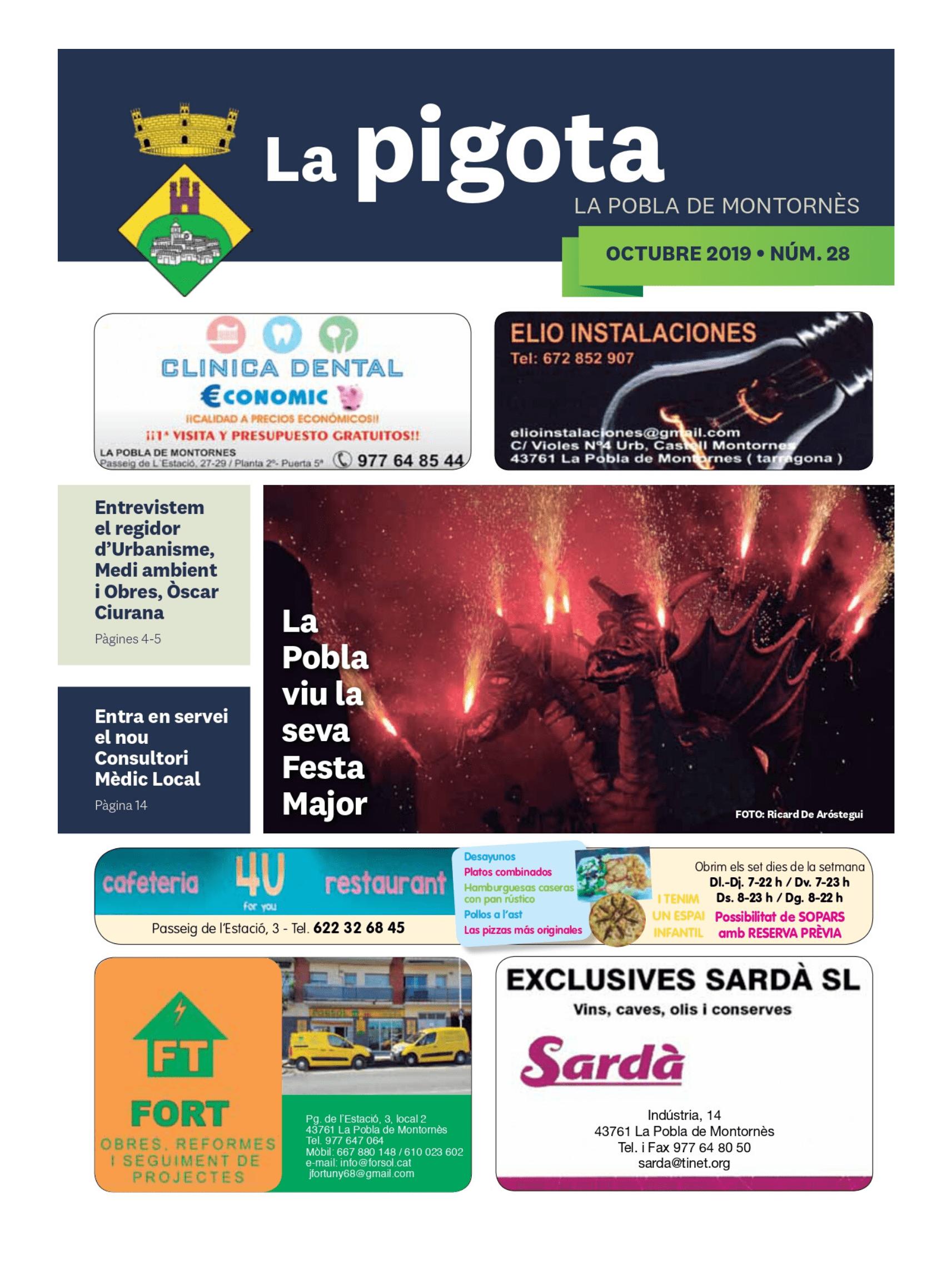 Revista La Pigota núm. 28 (Octubre 2019)