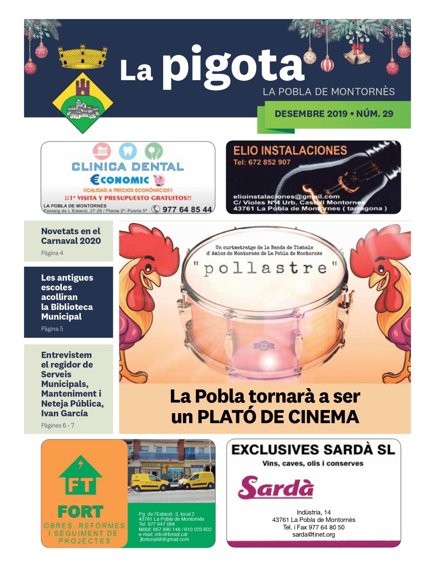 Revista La Pigota núm. 29 (Desembre 2019)