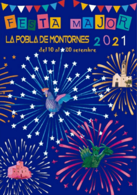 Ja tenim cartell de la Festa Major de la Pobla de Montornès 2021