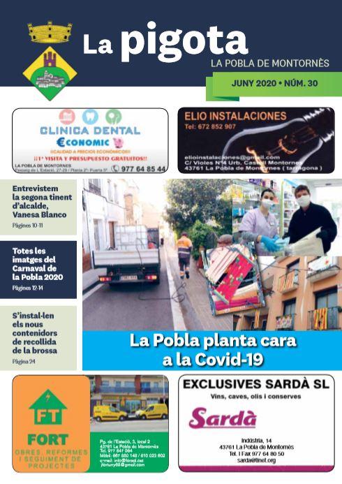 Revista La Pigota núm. 30 (Juny 2020)