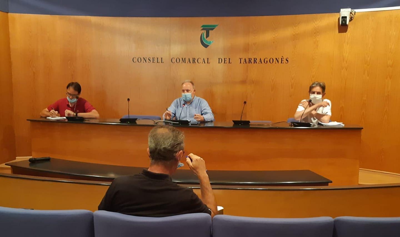 Reunió el passat dijous, 23 de juliol, els municipis adherits al contracte de recollida de brossa del Consell Comarcal del Tarragonès