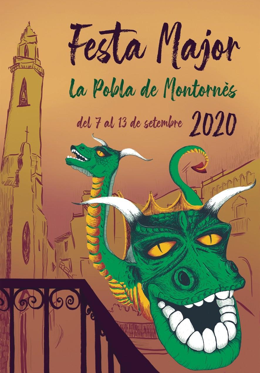 Ja tenim guanyadora del l Concurs del cartell de la Festa Major de la Pobla de Montornès 2020