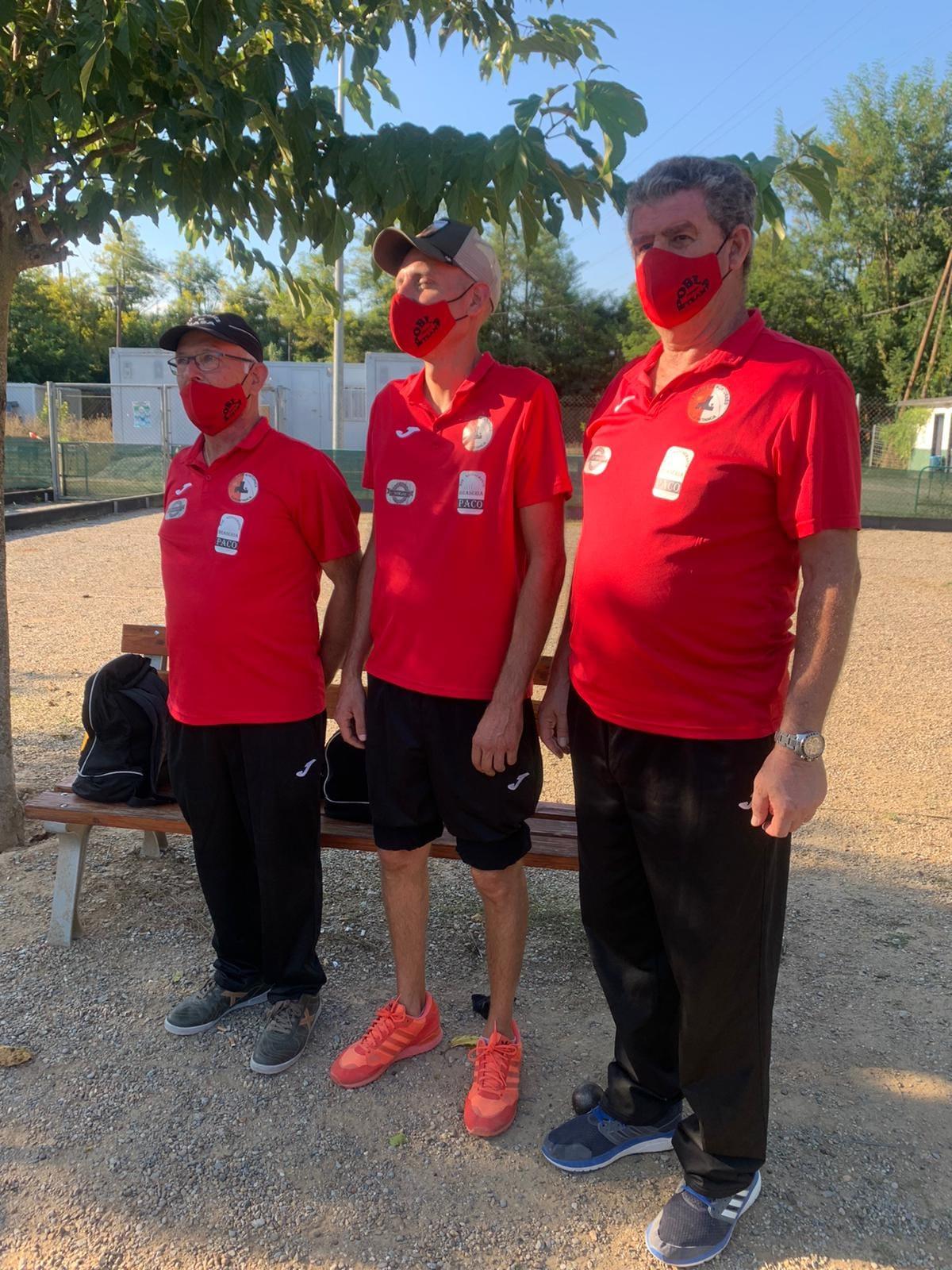 El Club Petanca La Pobla de Montornès es classifica per la fase final del Campionat d'Espanya