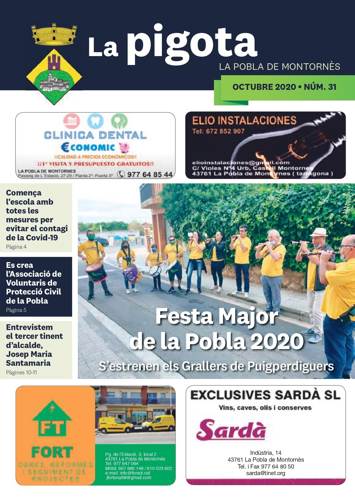 Revista La Pigota núm. 31 (Octubre 2020)