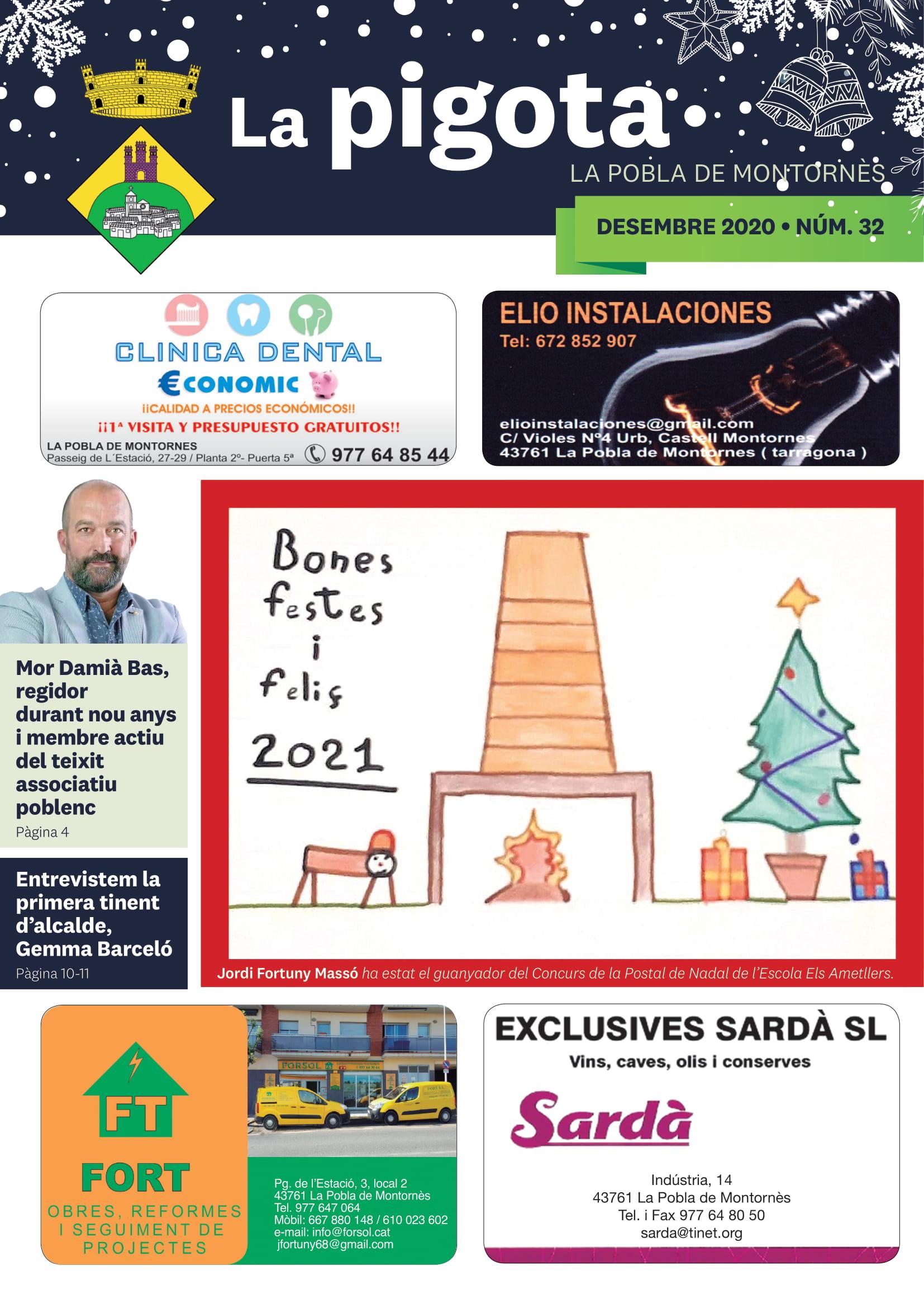 Revista La Pigota núm. 32 (Desembre 2020)
