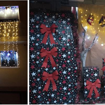 La Pobla de Montornès ja té guanyadors del I concurs de balcons i aparadors decorats i/o il·luminats