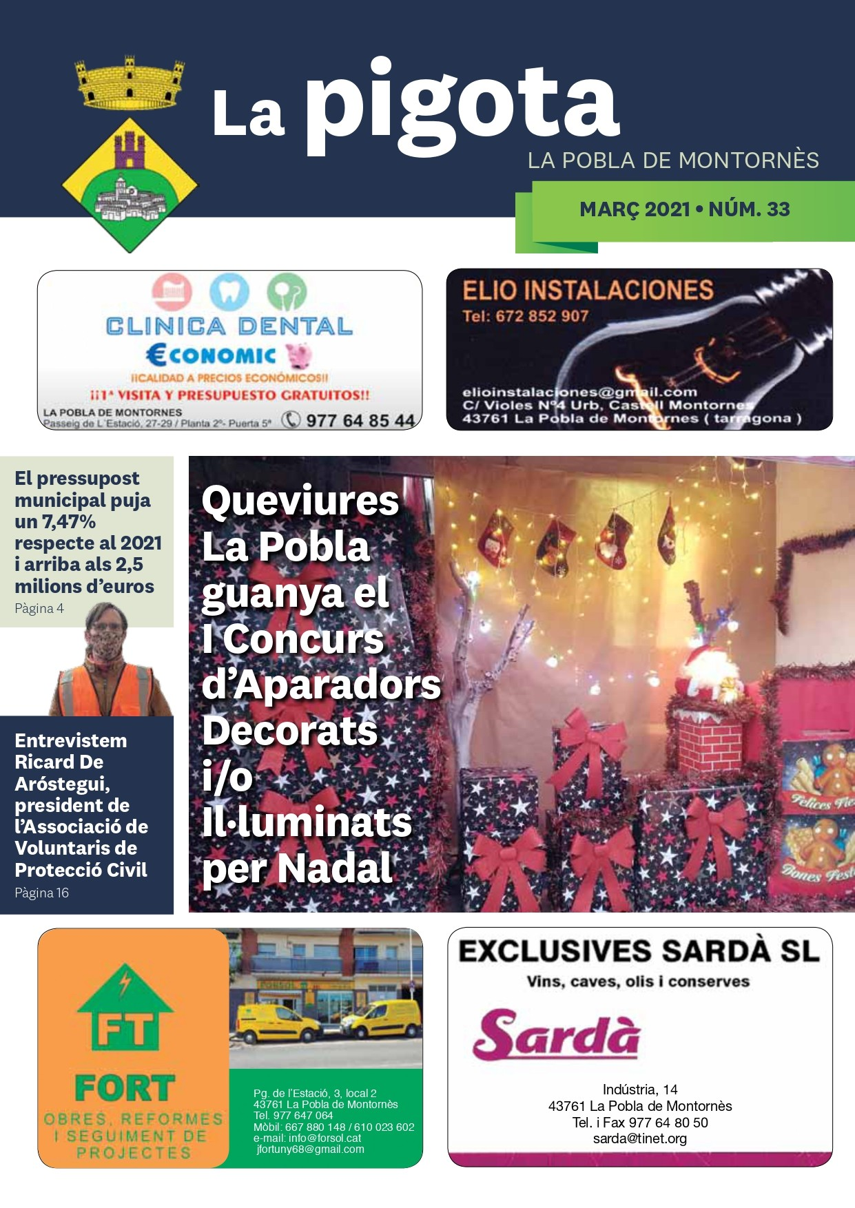Revista La Pigota núm. 33 (Març 2021)