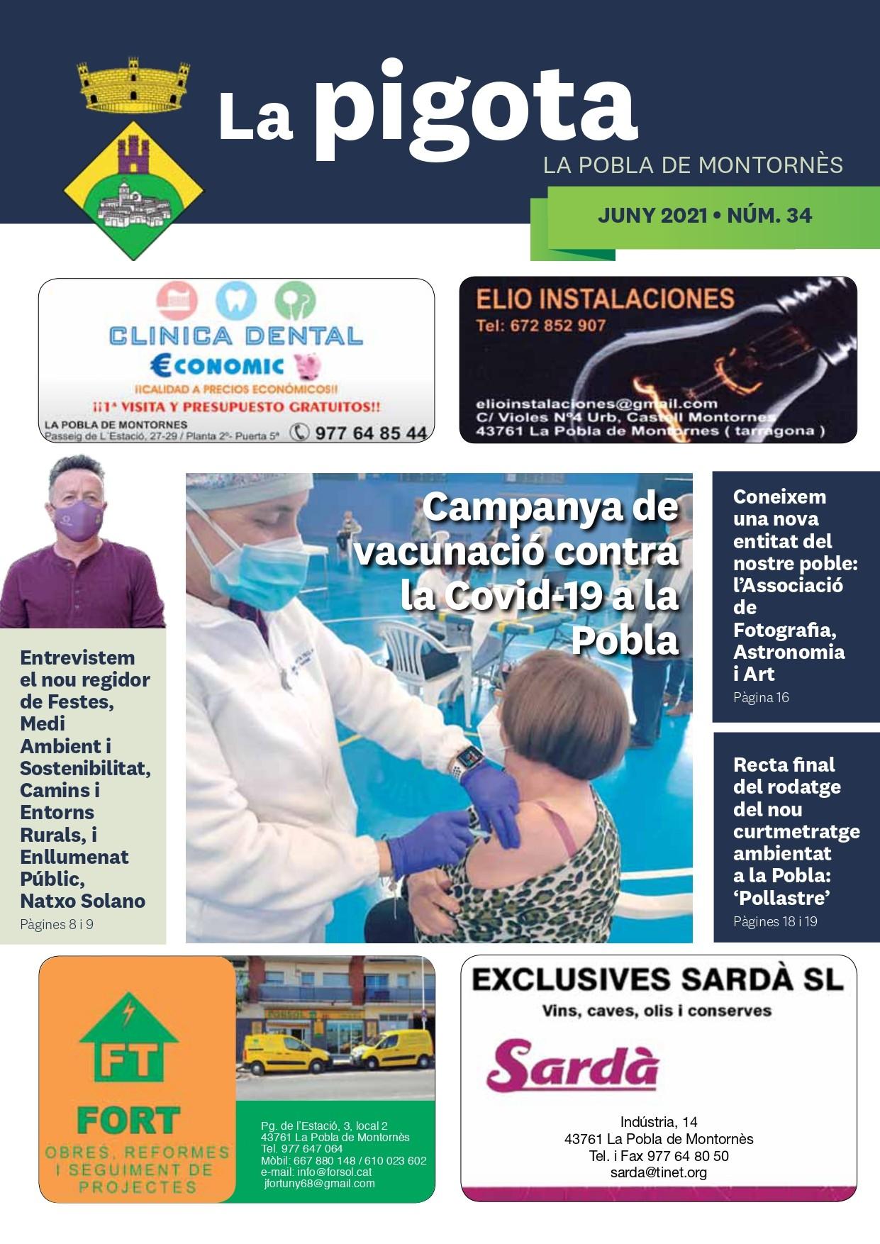 Revista La Pigota núm. 34 (Juny 2021)
