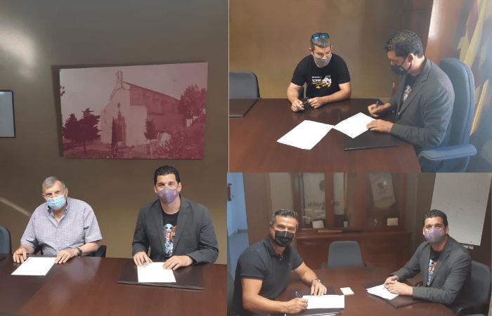 L'Ajuntament signa la cessió de l'ús dels locals a diferents associacions