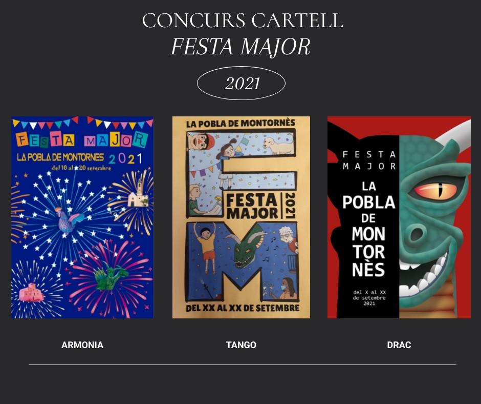 Escull el cartell de la Festa Major 2021